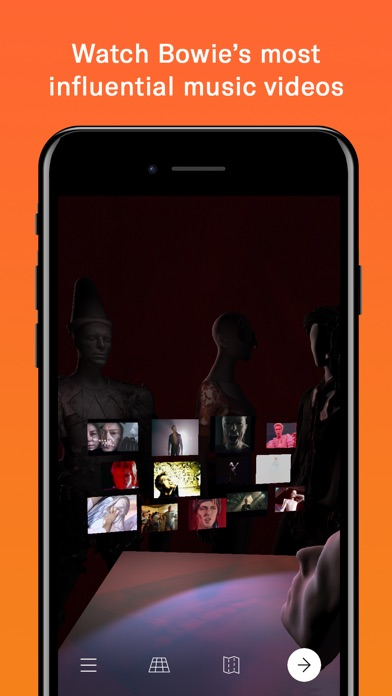 download David Bowie is apps 4