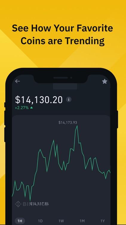 Binance: Buy Bitcoin & Crypto screenshot-4