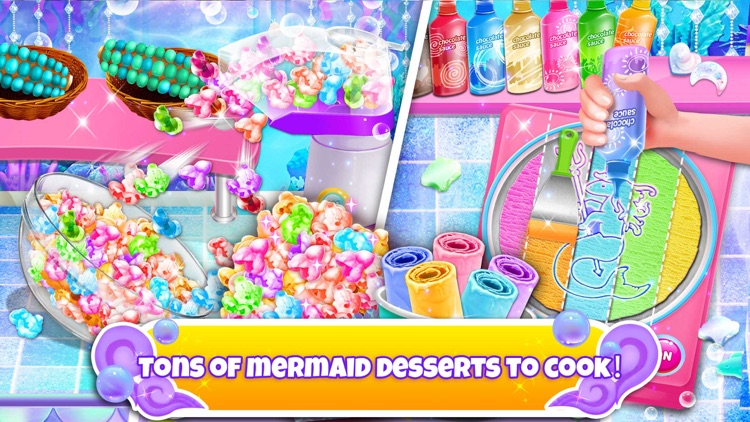 Unicorn Chef: Mermaid Cooking screenshot-4