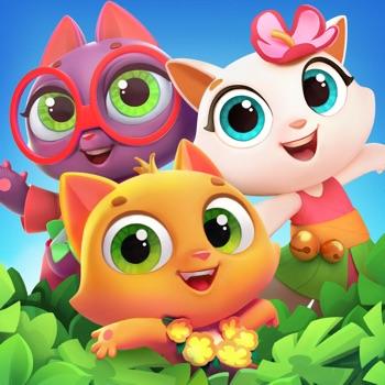 Tropicats: match-3 met katten