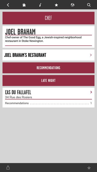 Where Chefs Eat Screenshot
