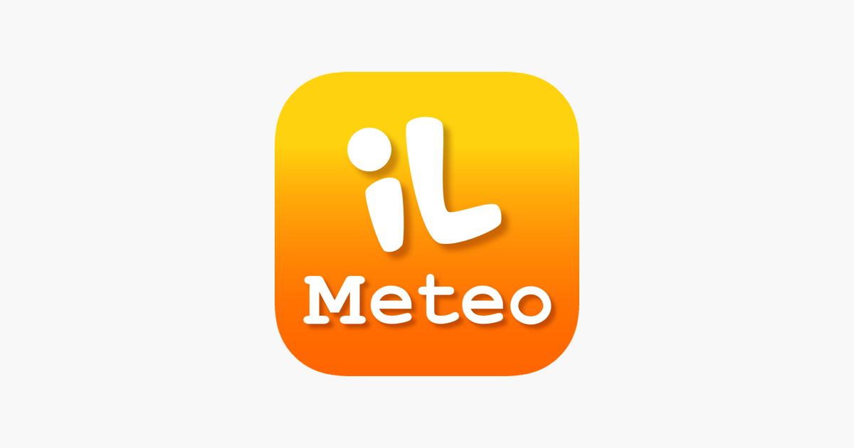 Meteo By Ilmeteoit Im App Store