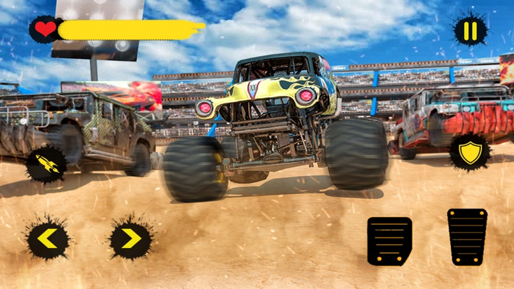 Monster Truck 4x4 Derby screenshot-3