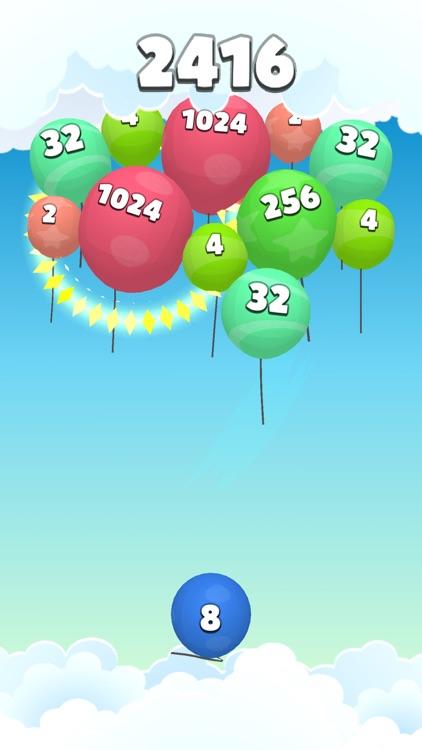 2048 Balloons 3D screenshot-4