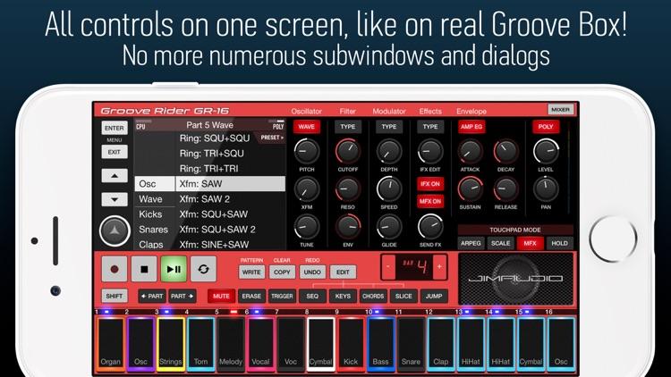 Groove Rider GR-16 screenshot-4