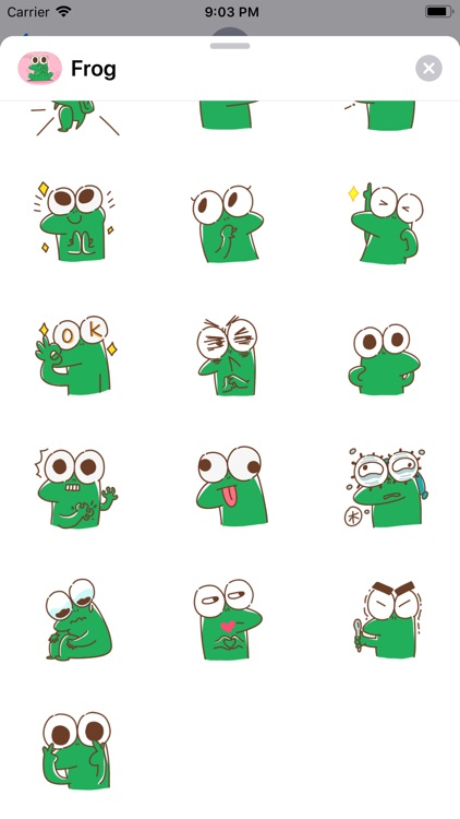 Funny Frog Animated Stickers screenshot-3