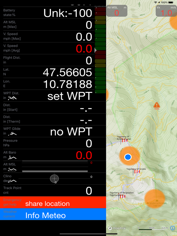 eVario - Variometer Pro Screenshots