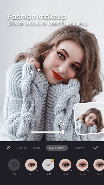 PocketPics- Hair & Face Editor screenshot-3