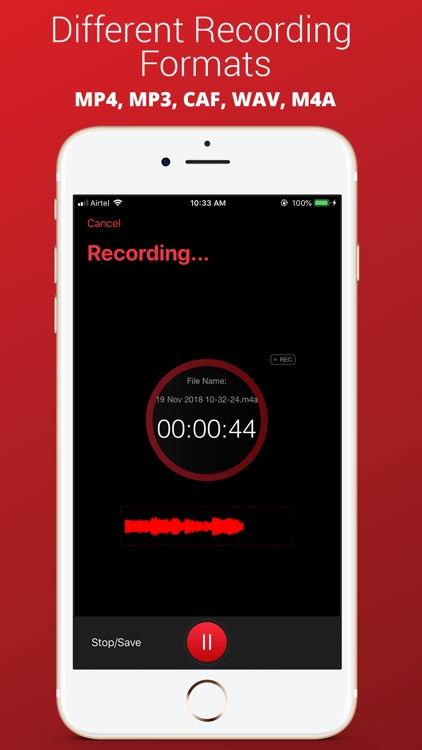 Voice Recorder Plus Pro screenshot-3