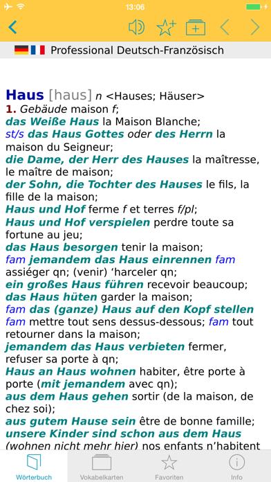 Französisch XL Pro Wörterbuchのおすすめ画像1