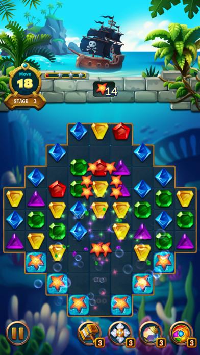 Jewels Fantasy Legend - Match3Captura de pantalla de6