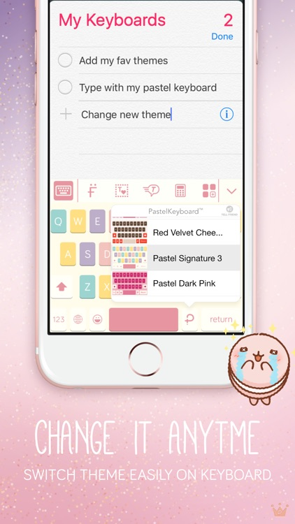 Pastel Keyboard -  VIP Premium screenshot-2
