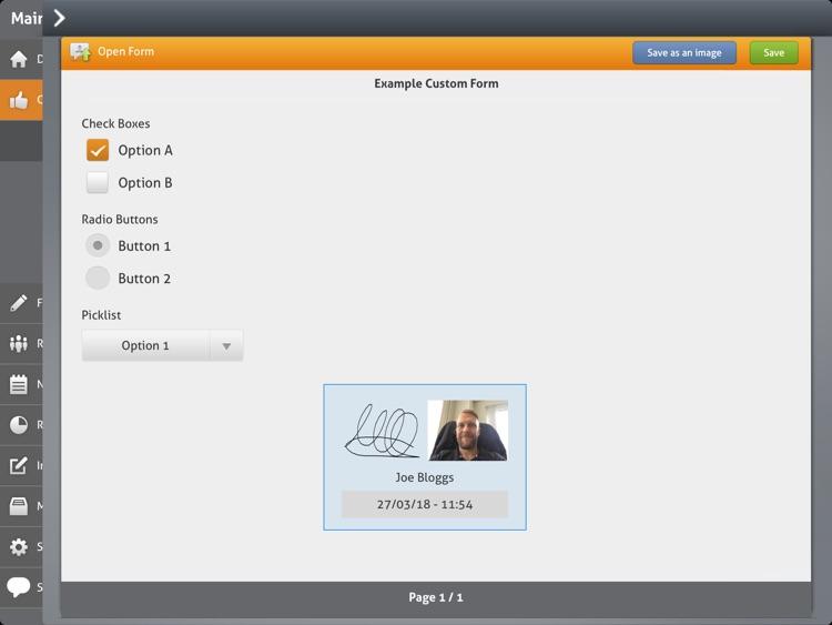 iPEGS Direct - Form App screenshot-3