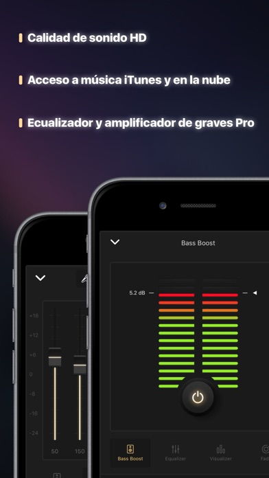 Screenshot for Ecualizador+ pro Bass Booster in Chile App Store