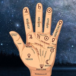 Fortune teller and palmistry