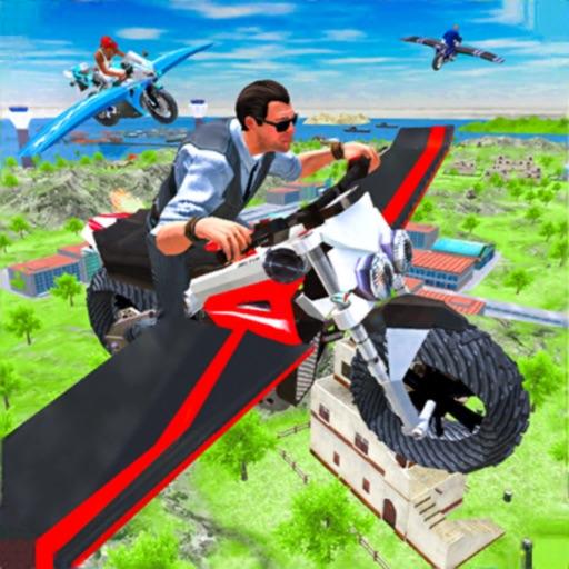 Flying Motorbike Real Sim 3D