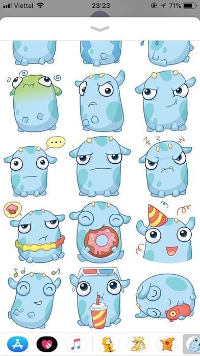 Emoji Cute Pun Funny Stickers screenshot 2