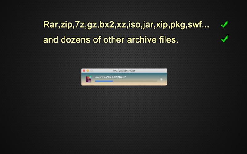 RAR Extractor Star Screenshot