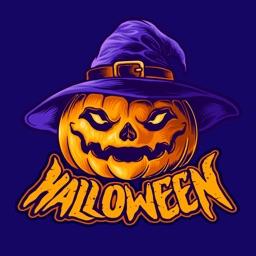Halloween Stickers Animated