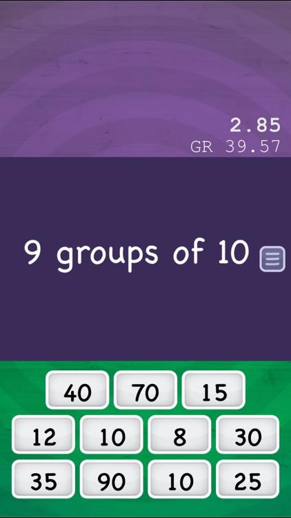 Math Slide: multiply & divide