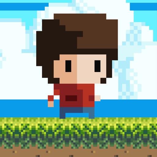 8 Bit Kid - Jumping World icon