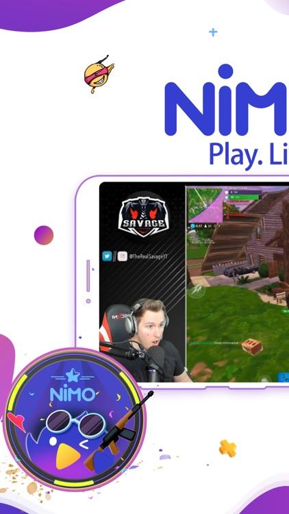 Nimo TV-Play. Live. Share.