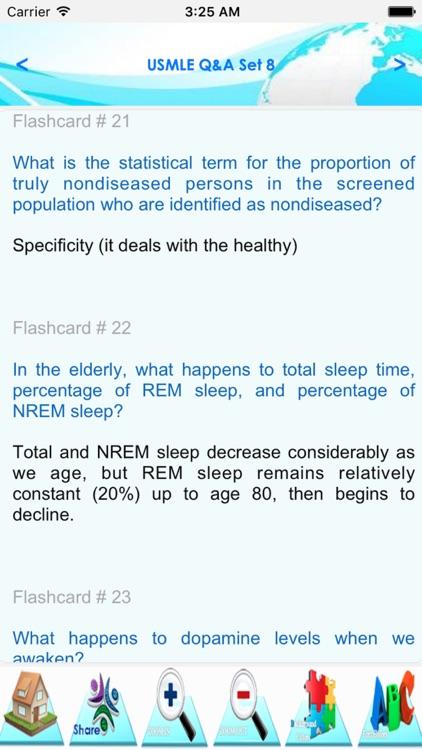 USMLE Exam Review Notes & quiz screenshot-3