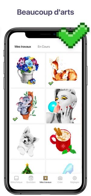 Pixel Art Couleur Par Numéro Dans L App Store