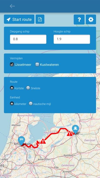Vaarkaart Nederland screenshot-5