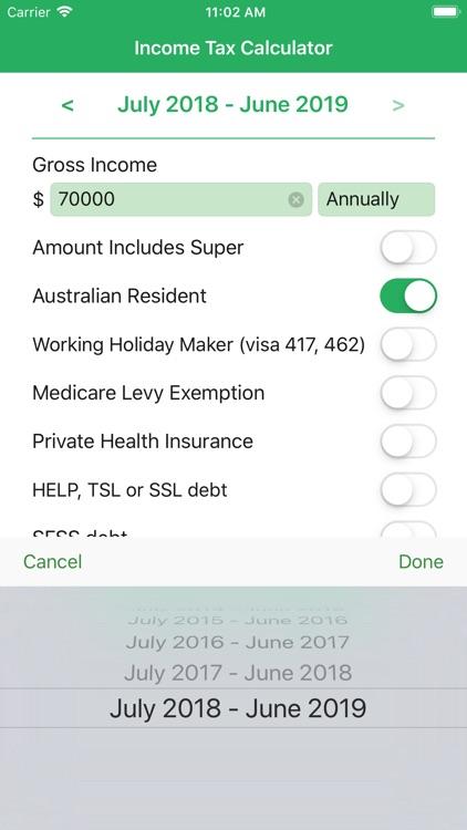 TaxCalc AU screenshot-3