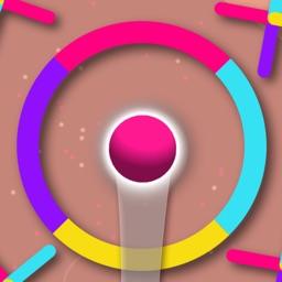 Color Infinite-Color Ball Jump