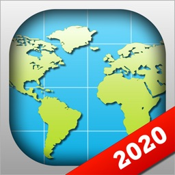 World Map 2020 Geography Maps