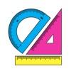 分度器(角度の測定) - iPhoneアプリ