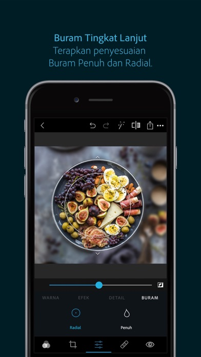 Screenshot for Adobe Photoshop Express in Indonesia App Store