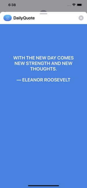 Daily Quote - Positive quotes on the App Store