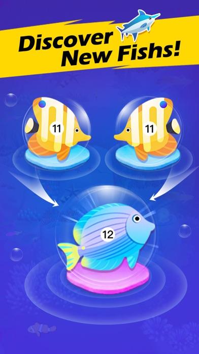 Fish Merge! Idle Game app image