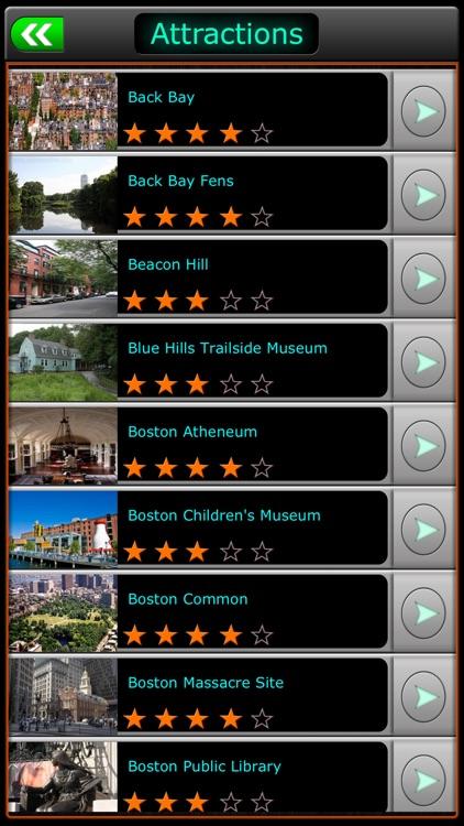 Boston Offline Travel Guide