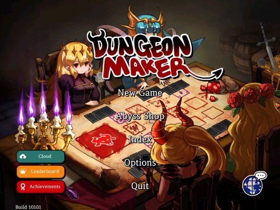 Dungeon Maker : Dark Lord на iPad