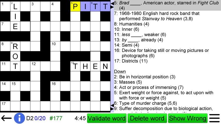 Crossword Unlimited screenshot-4