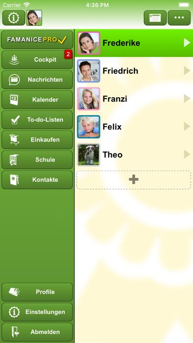 FAMANICE – FamilienkalenderScreenshot von 1