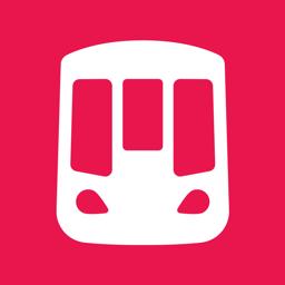 Ícone do app Shanghai Metro Interactive Map
