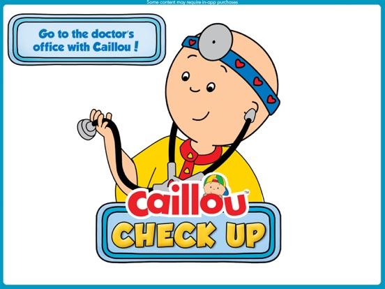 Caillou 健康診断お医者さんゲームのおすすめ画像1