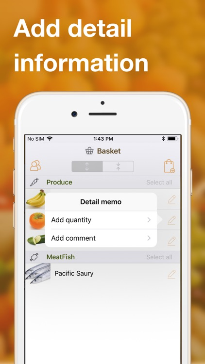 Easy grocery shopping list app screenshot-7