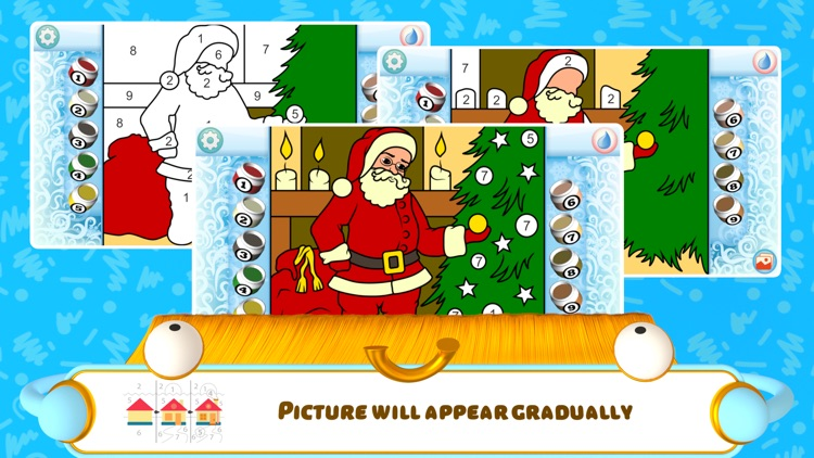 Color by Numbers - Christmas + screenshot-4