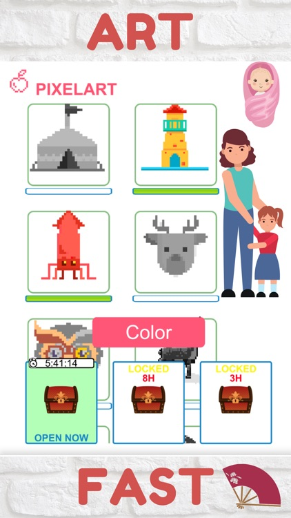 My Pixel Art : Color By Number