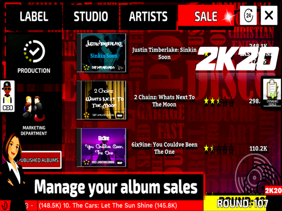 Music Label Manager 2K20 screenshot 14