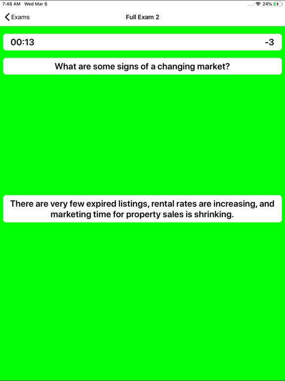 Real Estate Appraiser Exam screenshot 12