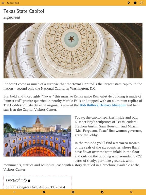 Austin's Best: TX Travel Guide screenshot 12