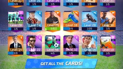 Screenshot of Soccer Star 20 Football Cards App