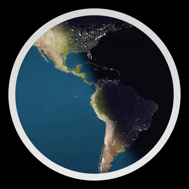 Day & Night World Map Studio im Mac App Store